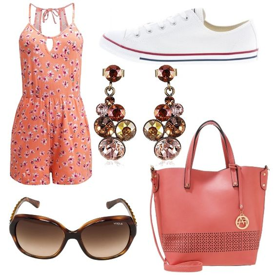 outfit color corallo